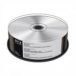 25 BD-R 25GB Mediarange 6X Silver Senza serigrafie MR513