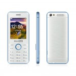 Cellulare MaxCom MM136 Dual SIM Radio FM MicroSD Torcia Bianco/Blu