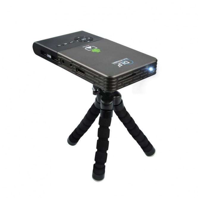 Box Android C2 Mini Smart Proiettore Portatile Android 1Gb + 8GB WiFi