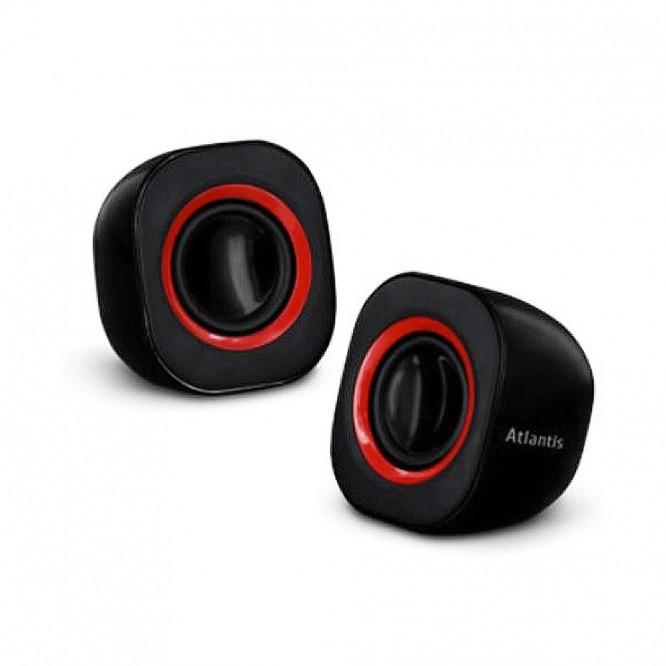 Casse Audio 2.0 Atlantis Land 440W SoundPower410 Nere