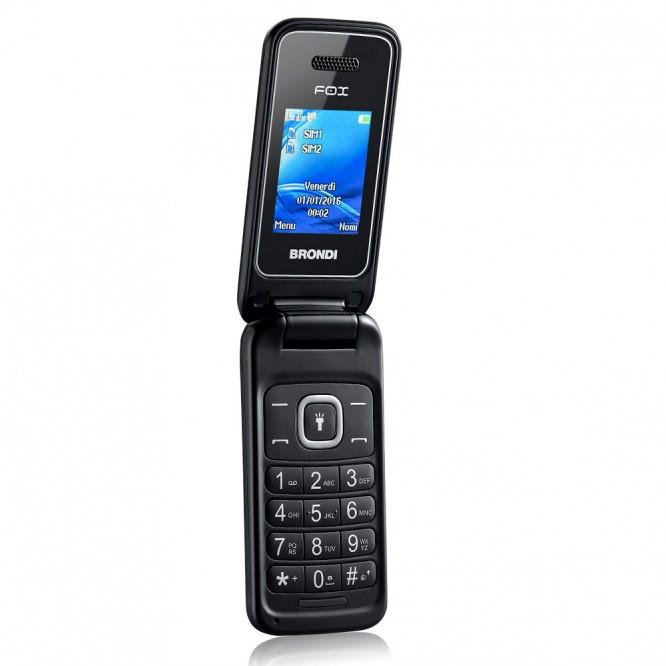 Cellulare Brondi Fox Duos Dual SIM Nero