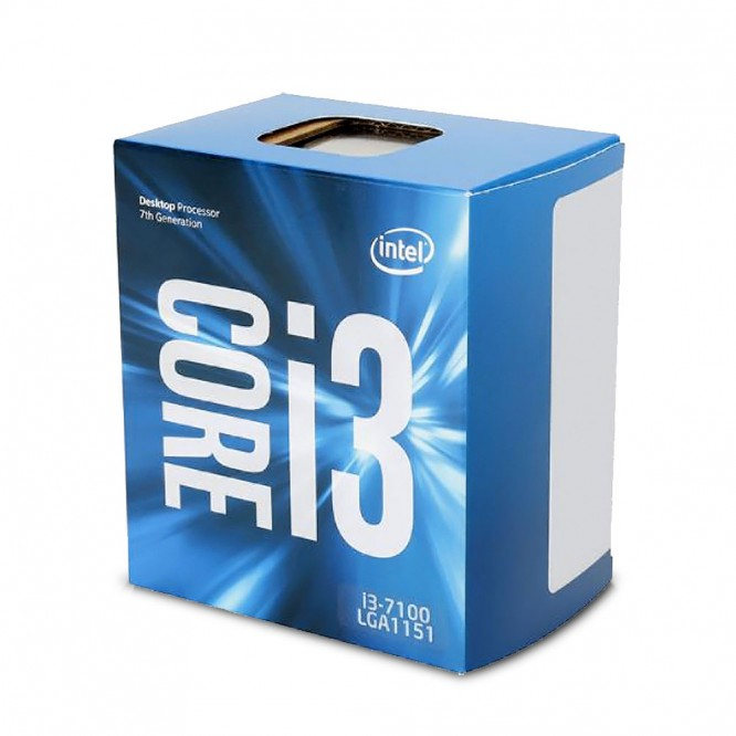 CPU Intel Core I3-7100 dual Core 3.9Ghz Box BX80677I37100