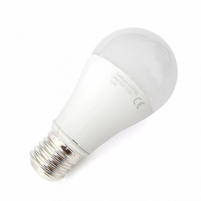LAMPADA LED E27 A60 12W BIANCO CALDO