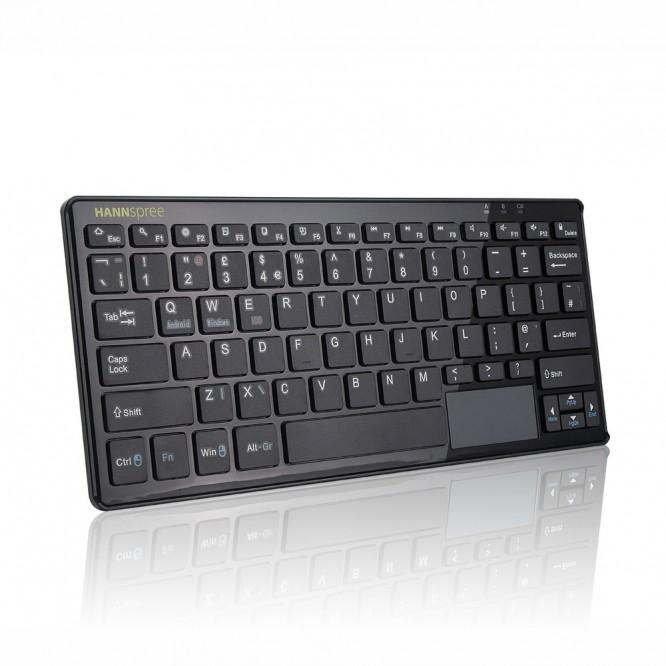 Mini Tastiera e MousePad Wireless Hannspree G465 Ricaricabile