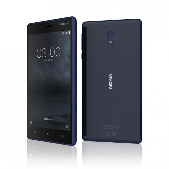 Nokia 3 LTE 4G Tempered Blue Dual SIM 5