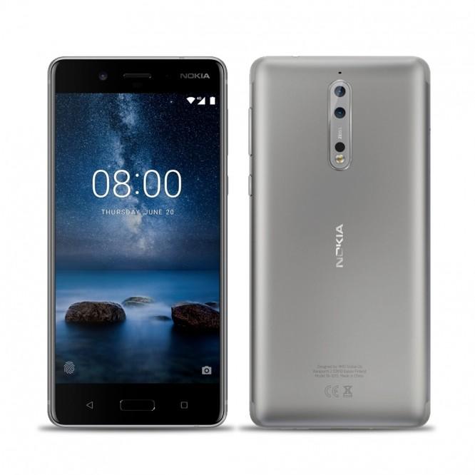 Nokia 5 LTE 4G Silver Dual SIM 5.2