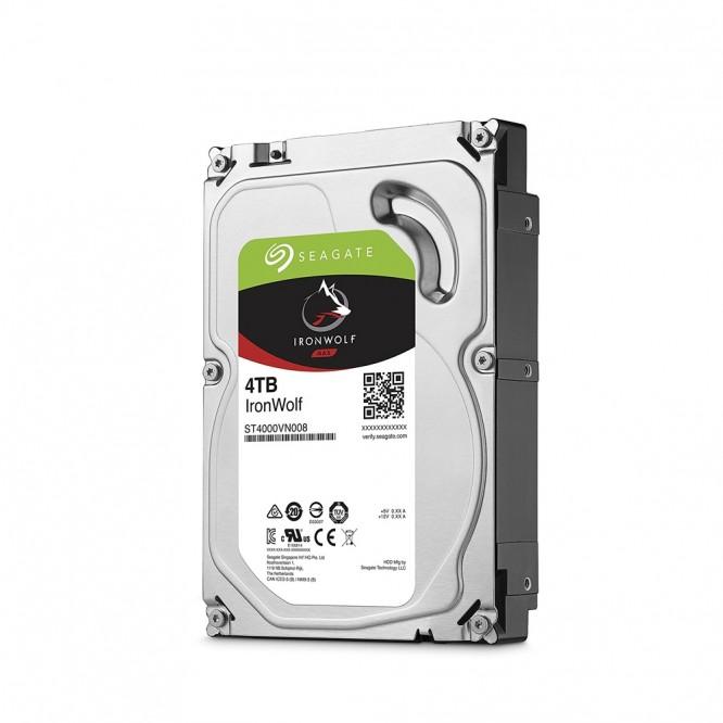 Hard Disk Seagate IronWalf 4TB Sata ST4000VN008