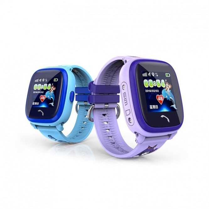 Smartwatch DF25 per Bambini compatibile IOS/Android GPS IP67