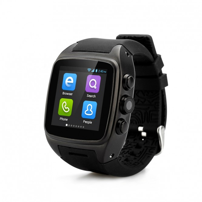 Smartwatch X01S Nero GPS Ram 1GB Rom 8GB IP67 3G Smart Android WiFI