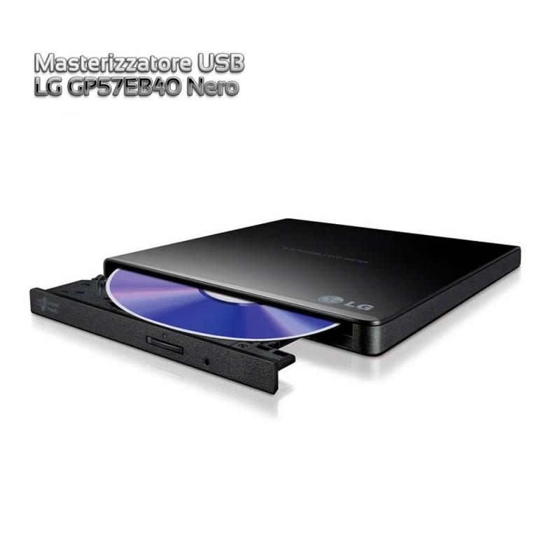 Masterizzatore USB LG GP57EB40 Nero